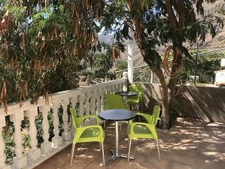 Spacious house in the center of Fataga with Parking, Internet, Garden, Terrace