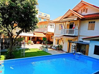 Family Holiday Homes with Pool & Garden in Central Bangkok