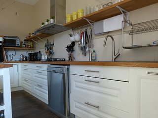 A closer look at the new kitchen