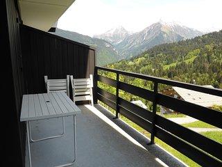 Joli Studio 4p avec vue sur les montagnes | près de la navette