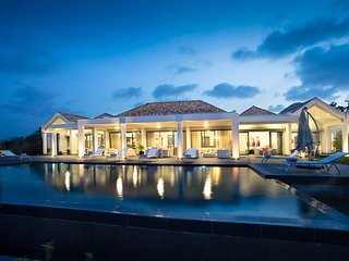 Monte Verde - Dream Pool & Views - Orient Bay, St. Martin, Caribbean