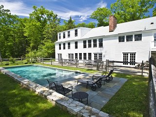 100% ROXBURY! PoshPadsCT 'NORTH ST' Private, Mint 6-BR, Pool,Views, Fire Pl, BBQ