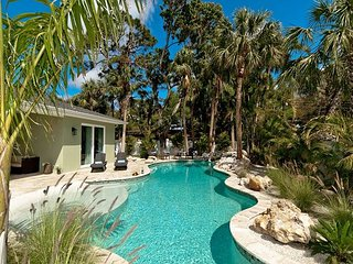 Tropical Oasis - A brand new home with heated over-sized pool!