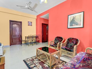 Charming 2 BHK with a pool, 1 km from Vagator Beach