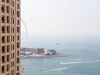 Ocean Front View 2BR Suites in JBR Walk