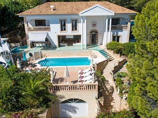 5 bedroom Villa in Portals Nous, Balearic Islands, Spain : ref 5716017