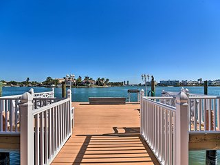 NEW-St Pete Beach Resort Condo w/Patio&Shared Dock