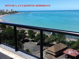 Duplex de luxo a beira mar de Maceió - diária a partir de R$250,00