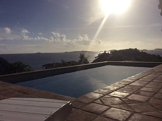 * Cruz Bay * Luxury 2 Bed 2 Bath * Amazing Ocean Views * Pool * Walk to Town! *