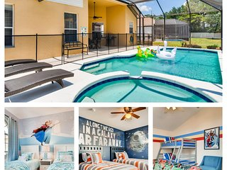 Windsor Palms Resort Luxury 6BedRM POOL Home- 3 Miles to Disney