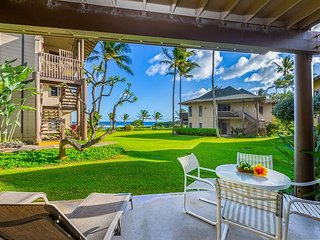 Kaha Lani #115, Ocean View, Steps to Beach, Remodeled Kitchen, King Bed, Wifi