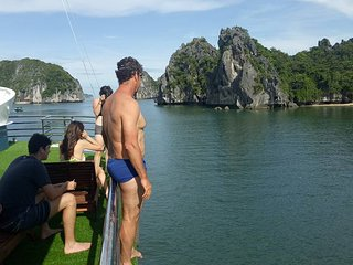 LAN HA BAY - HA LONG BAY - KAYAKING - MONKEY ISLAND  (2 DAY )  Departure: 11am