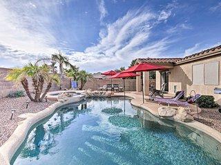NEW! Peoria House w/Tropical Backyard+Private Pool