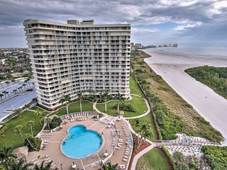 Beachfront Marco Island Resort Condo w/ Pool!