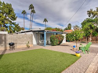 NEW! Pet-Friendly Phoenix Studio w/ Yard & Grill!