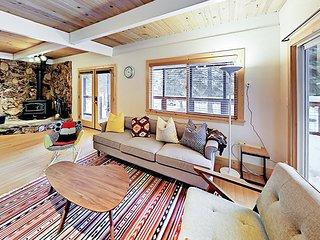 Chic Ski Retreat! Remodeled 3BR w/ Hot Tub, Deck, & Balcony - Near Slopes