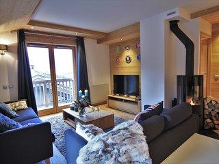 B08 - Chaleureux Appartement avec Vue sur la vallee - Proche Pistes & Centre