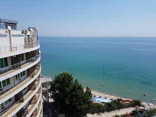 Two bedroom suite deluxe with a view of the sea