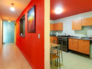 Full Apartment in Coyoacan, near UNAM, Family friendly