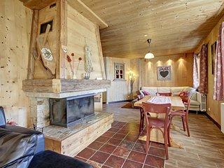 Chalet Ride&Breakfast : 6 chambres en suites, jacuzzi, cheminée, centre village
