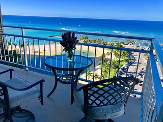 Luxury 2BR/2BA Amazing Ocean/Sunset views 1000SF unit with 2 Balconies!