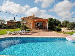 Casa vacaciones Villa Cala D'or a 3 km de las playas