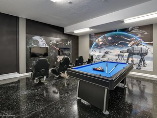 Star Wars Game Room, & Boutique Style Bedrooms!