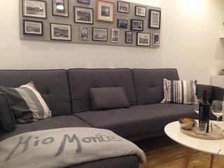 Mio Monte 5 Apartment, deutscher Standard, 2 Schlafzimmer, Terrasse, Meerblick