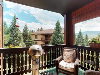 NEW LISTING! Luxury condo with mtn views near skiing, hiking, biking, and resort
