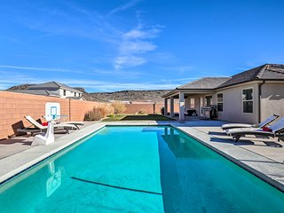 NEW! Hurricane Home w/ Private Pool, Mtn Views!