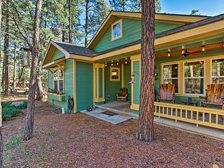 NEW! Strawberry Cabin by Tonto National Forest!