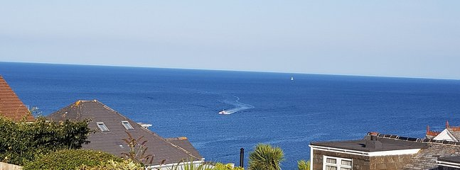 THE sea views from Little Pebble House