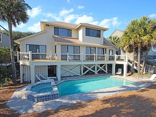 Oceanfront North Forest Beach home w/ priavte pool and spa!