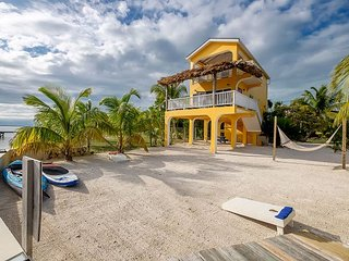 Completely Renovated private oceanfront home on the beach with private pier