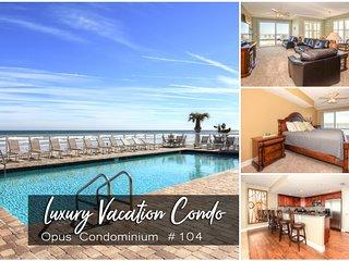 Feb Specials! Opus Condominium - Oceanfront- 3BR/3BA #104
