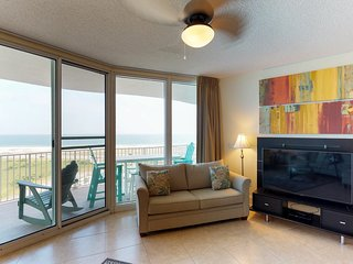 Resort condo with shared pool, hot tub, tennis, and sauna with easy beach access