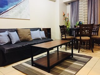 2BR | Flair Towers | 50 Mbps | Free Parking | Near Greenfield District | 3315