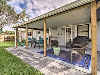 NEW! Satellite Beach Home w/ Patio-Walk to Ocean!