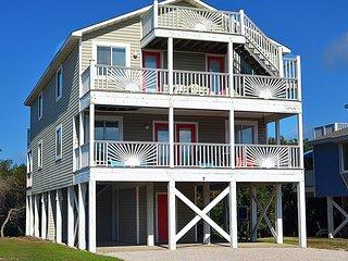 NEW LISTING! Entire duplex w/decks, views, beach access & shared pools/hot tub