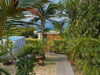 Bungalow Chateaux St Leu, vue mer et piscine