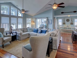 NEW LISTING! Dog-friendly & lakefront home w/kayaks & boathouse for entertaining