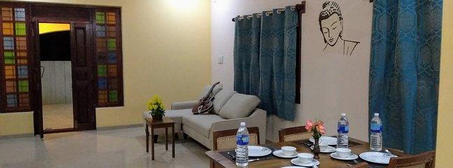 Magizh Illam (Happy House) - Ground Floor near, Auroville beach and ECR, holiday rental in Kottakuppam