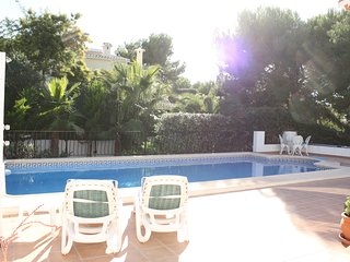 Beautiful villa close to Javea, sleeps 6, Private pool, air con, wifi.