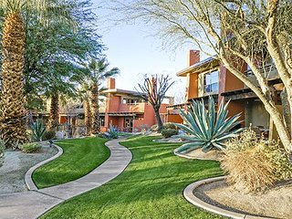 Embarc Resorts is a beautiful complex with views of Desert Willow Golf Resort