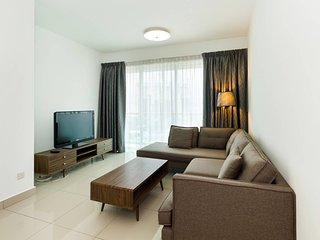 Chic and Cozy 3BR Apartment at Publika