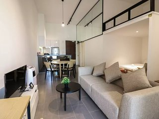 Cozy 2BR with Mezzanine in Bangsar - 7 guests!
