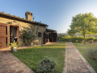 Casole Elsa,country house in Chianti,M,terrace,swimmingpool,child-friendly,Wi-Fi