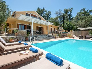 Villa Milou With Private Pool & Fantastic Views Over The Open Ionian Sea