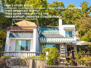 ★FREE SHUTTLE VAN★ Fabulous Sunlit Heritage Mansion - Joy Hasla