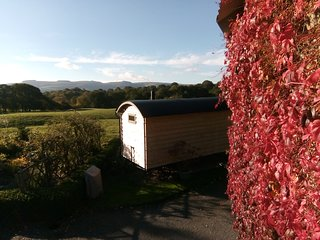 Noddfa Shepherd Hut, a cosy getaway in glorious Mid-Wales